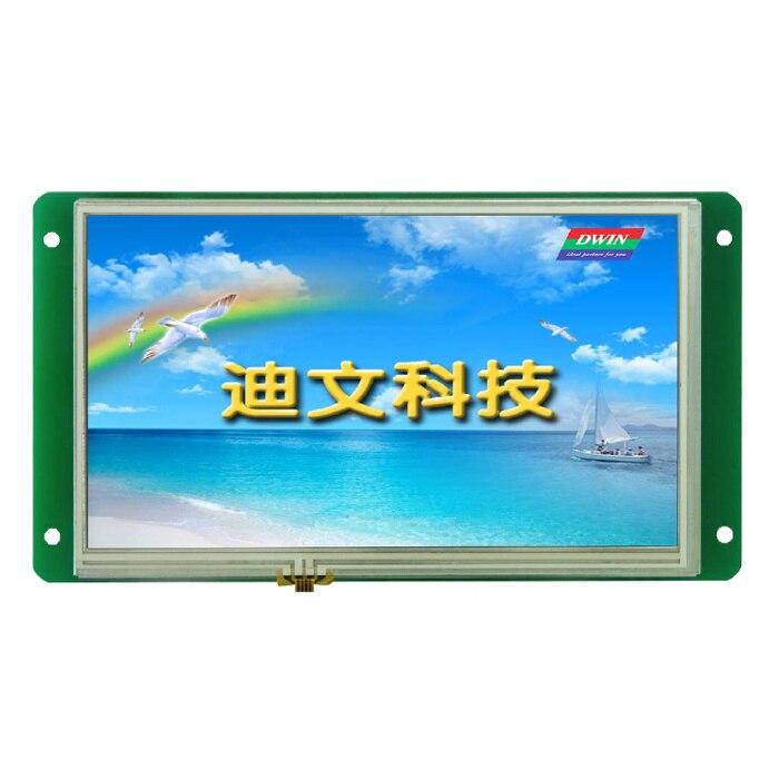DMT80480M070_01WT, 7 inch Devon serial command screen touch screen декор decocer devon decor mustard bone 7 5x15