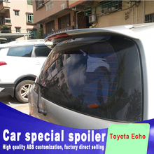 2002-2013 Golden Style high quality ABS spoiler for Toyota Echo YARIS Vitz spoiler rear window roof spoiler primer DIY paint for toyota yaris yarisl spoiler abs material car rear wing primer color rear spoiler for toyota yaris l spoiler 2014 2017