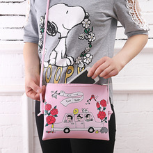 Fashion Cartoon Printed Women Graffiti Handbag Mini Cross body Shoulder Bag Ladies Casual Purses Clutches Girls Handbag