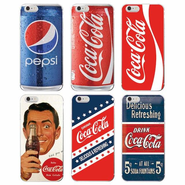 Ретро винтаж напиток бутылки кока-колы напиток телефон case cover coque для iphone 7 плюс 7 6 плюс 6 6s 5 5S se 5c 4 4S samsung galaxy