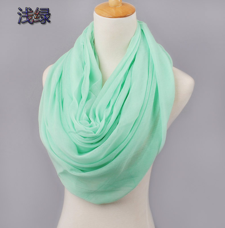 2017 New Arrival Fashion cotton   Scarf   women warm soft   Scarf     Wrap   Shawl   scarves   Neon Color Muslim Hijabs Drop Shipping