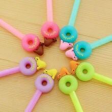 1 шт Творческий пончик ручка Карамельный цвет полярный медведь