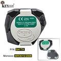 KEYECU 1x/5x433 МГц P/N: B42TA 2 кнопки Подлинная пульт дистанционного управления для Toyota Hilux Fortuner 4Runner использовать в HK TW Таиланд Бразилия