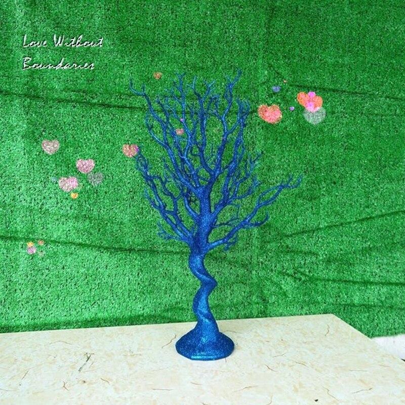 Simulación, árbol de Navidad blanco, rama de tallo, tronco, resina de protección del medio ambiente, 8 colores pueden elegir - 6
