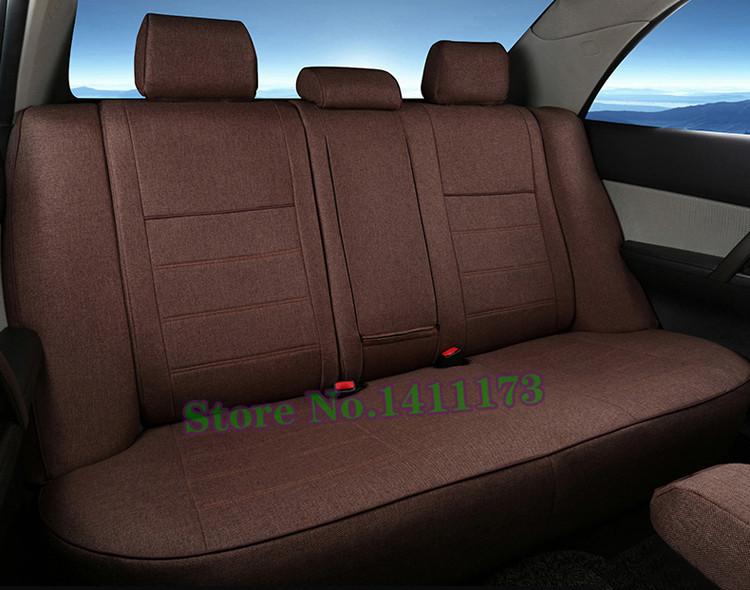fe4370402 CARTAILOR الكتان مقعد السيارة ل فولفو S60 غطاء مقاعد حامي مخصص صالح ...