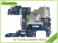MA10 Mainboard REV 2.2 H000064160 Laptop motherboard For toshiba satellite NB15 NB15T CPU N2810 Onboard DDR3 mainboard