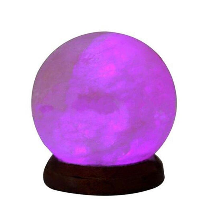 lampada de sal cristal brilhante atraente nightlight dc5v 03