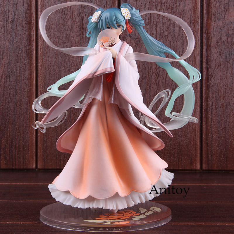 Hatsune Miku Figure Harvest Moon Ver. PVC Vocaloid Action Figure Hatsune Miku Collectible Model Toy Girls Gift 22cm hatsune miku unofficial mix