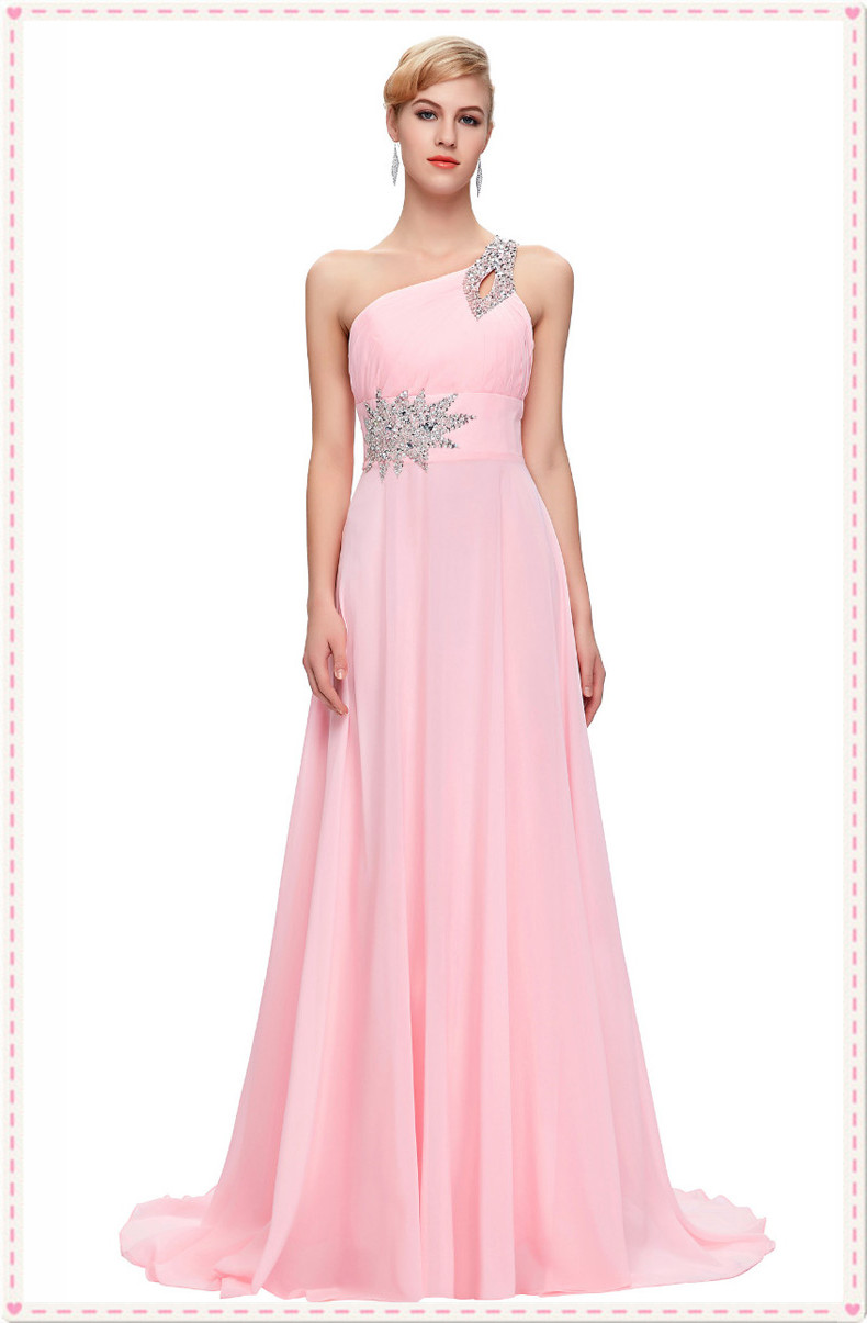 Tienda Online Grace Karin vestidos De dama largo 2018 rebordear ...