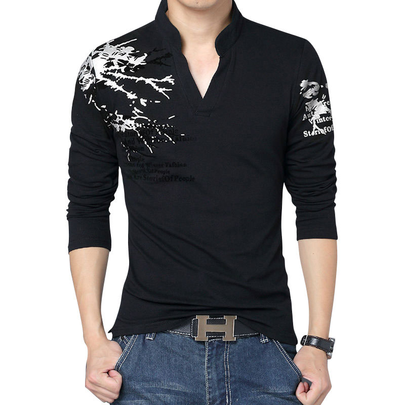 Buy New Spring Autumn V Neck Long Sleeve