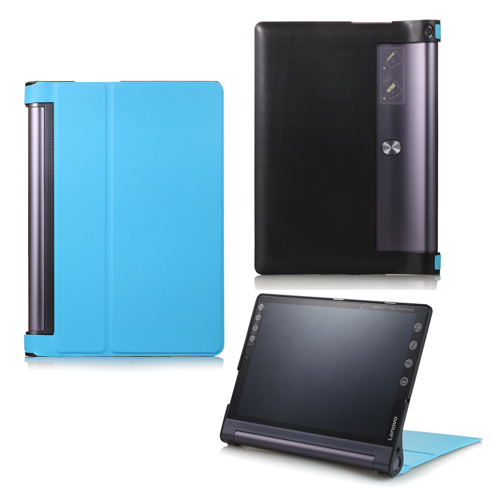 For Lenovo Yaga Tab 3 Pro 10.1 X90 X90L X90f cases PU Leather Cover for Yoga Tab 3 Plus YT-X703 10.1 inch Tablet Case+Stylus Pen