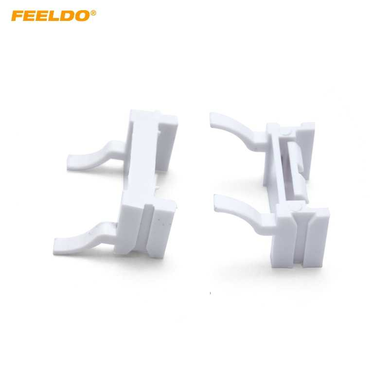 Feeldo 2pcs Car Bulbs Socket Conversion Adapter For Ford