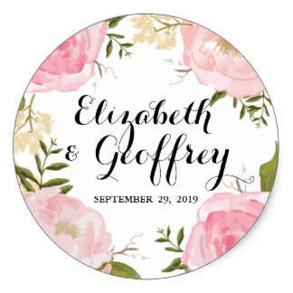 Custom Wedding Stickers Sticker Creations