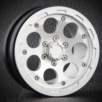 4pcs 2.2inch CNC Machined Beadlock Crawler Alloy Wheels For Trx-4 Trx4 T4 D90 D110 Axial Scx10 90046 90047 90048