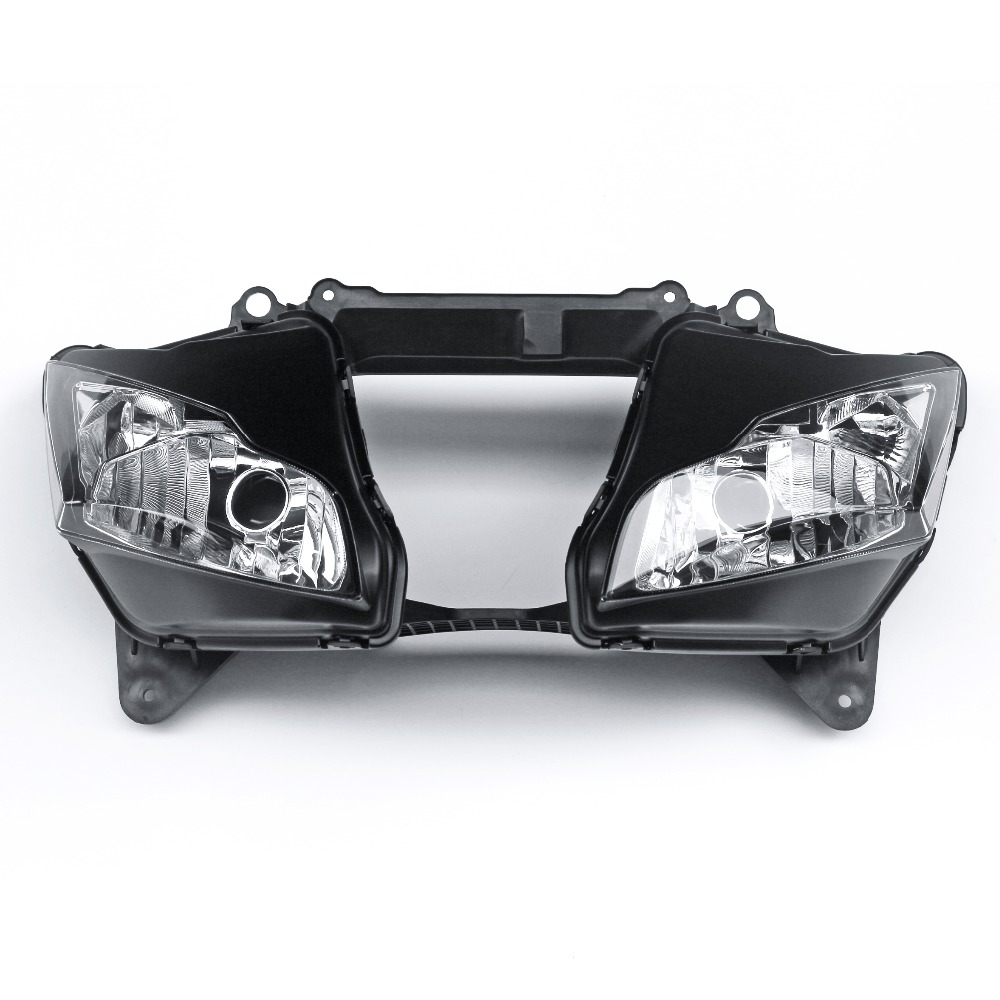 Replacement Front Headlight Lamp Assembly Fit For Kawasaki Ninja ZX10R 2011-2015 12 13 14