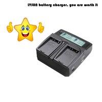 Udoli Universal Digital Dual Charger With EU Plug Car Adapter For SONY CANON NIKON PANASONIC Camera