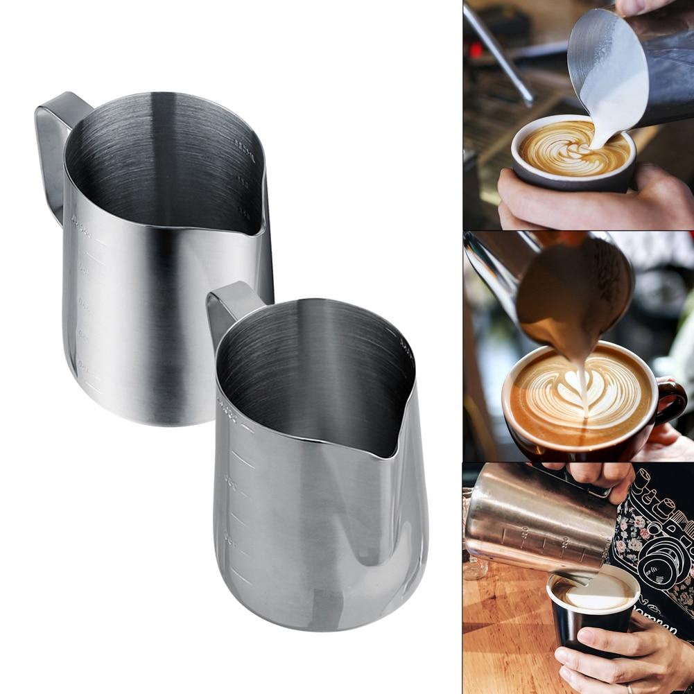 350 ملليلتر 600 ملليلتر المقاوم للصدأ كأس القهوة القدح كابتشينو كريم رغوة الحليب القهوة الحرارية اتيه الفن سحب زهرة كوب الحليب مزبد إبريق