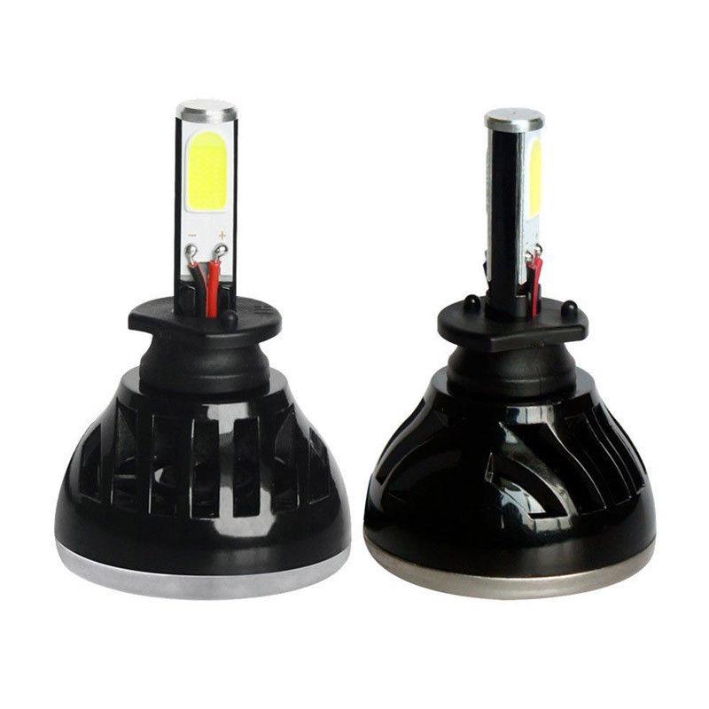 2PCS 40W 6000k Cool White H3 High Power LED Headlight Bulbs Light Conversion Kit sncn 2pcs 4000lm high brightness led headlight for skoda rapid 2013 2016 car head light conversion kit auto bulbs