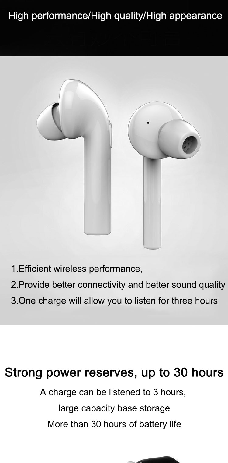 NEW Bluetooth Earphone Air 7E TWS True Wireless Earbuds Bluetooth 4.2 Stereo Earphones with Charger Box Portable