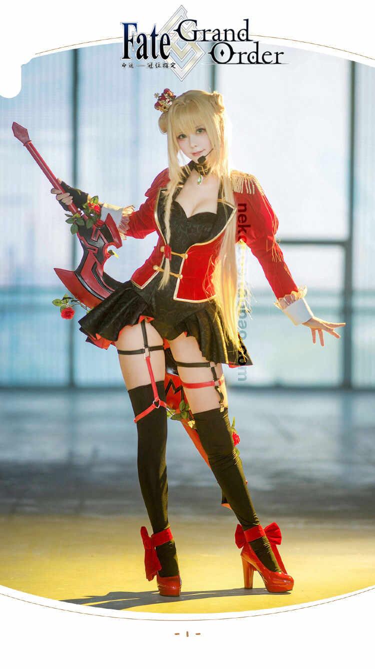 Nero FGO Cosplay Idol Nero Claudius New Cloth cosplay costume sexy  halloween costumes for women