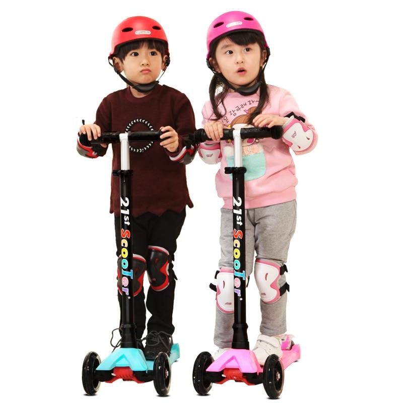 Bicicleta Infantil 21-ე სკუტერი Flash Wheel - გარე გართობა და სპორტი - ფოტო 2