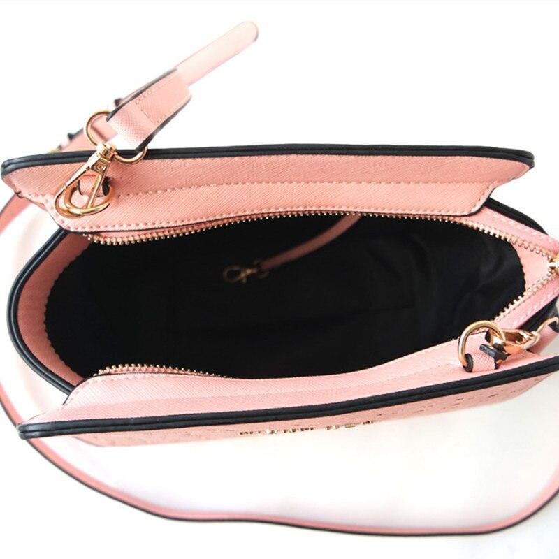 MICKY KEN Fashion Carved Hollow Bat Bag Cross Pattern PU Single Shoulder Women Bag Messenger Bag 3038 #