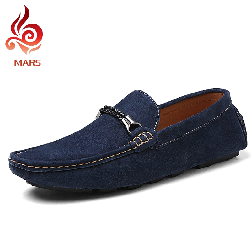 ФОТО Spring Fashion  Men Loafers Summer Style Men Flats Car-driving Shoes Moccasins Causal Flat  Leather Shoes Size:38-44 MT8028
