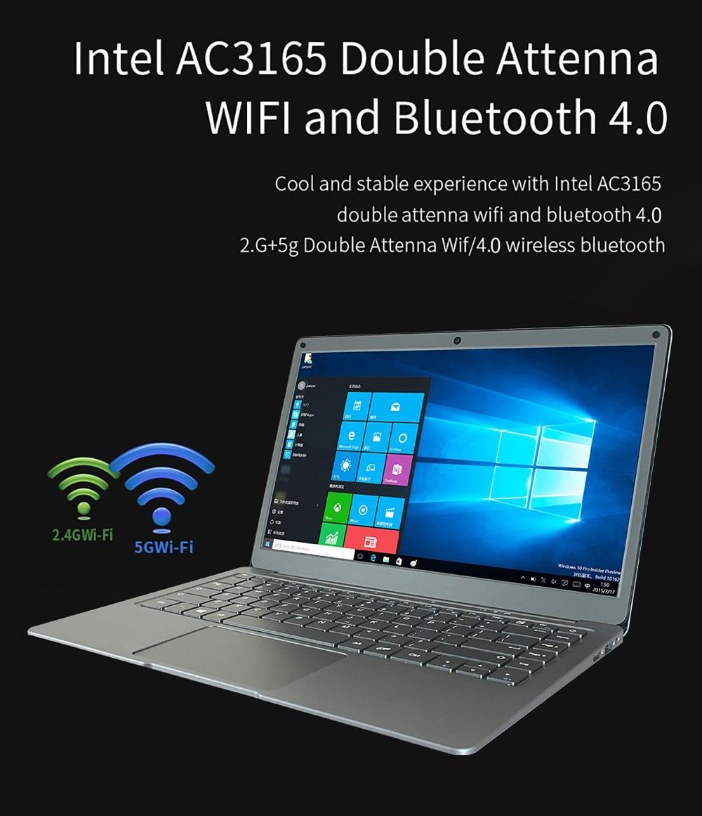 Jumper EZbook X3 notebook 13.3 inch IPS display laptop Intel Apollo Lake N3350 6GB 64GB eMMC 2.4G/5G WiFi with M.2 SATA SSD slot 16