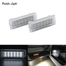 2x 18smd светодиодный двери межкомнатные свет для ног светодиодная подсветка салона автомобиля Стайлинг для BMW F01N/F02N/F03N F30 F31 F32 F34 F10LCI F11LCI