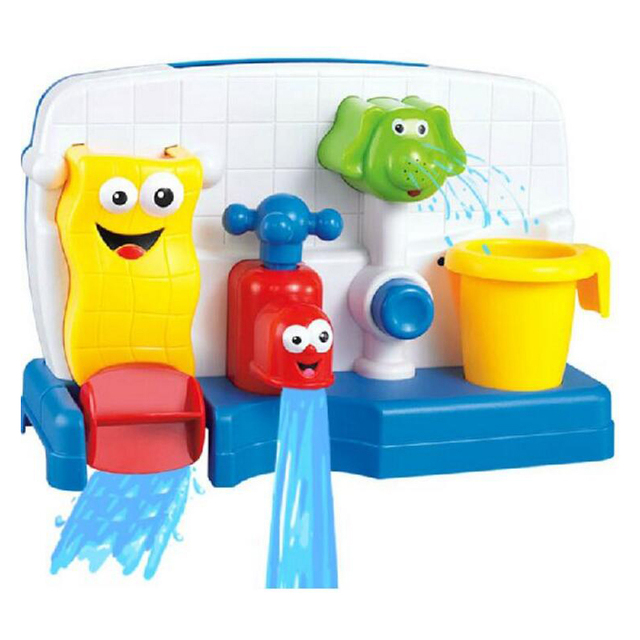 Baby Kids Bath Toys Funny Water Children Bathroom Toys automatic ...