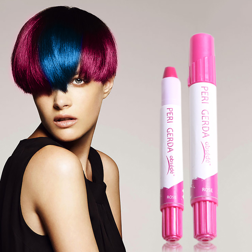 10g hair color wax Disposable Temporary Changing Color Hair Dye Paint Crayon Chalk Pen hair color permanent Hair Dye Pen image