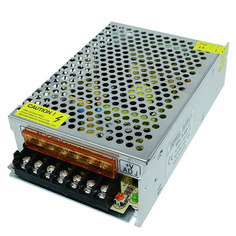 DC 12V 10A Universal Regulated Switching Power Supply for LED Strip light, CCTV, Radio, Computer Project etc universal15v 8a 120w regulated switching power supply transformer 100 240v ac to dc for led strip light lighting cnc cctv motor