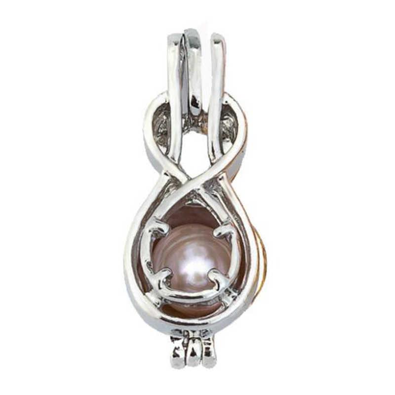 Lebih dari 60 Gaya Pearl Kandang Temuan Perhiasan Cage Liontin Minyak Esensial Diffuser Liontin untuk Oyster Kalung Mutiara