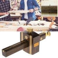 Marking Gauge Woodworking Mortise Sliding Mark Scraper Adjustable Head Meter