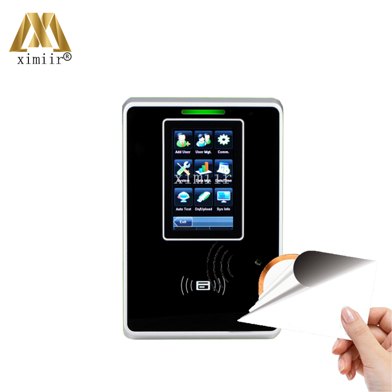 Touch Screen Tcp/Ip Usb 13.56Mhz Ic Card Access Control Sc700 Time Recording Employee Time Attendance