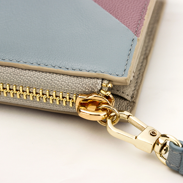 Damski portfel owcza skóra 2 kolory