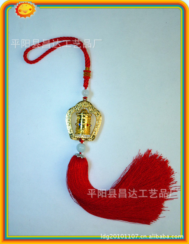 The new luxury car boutique pendant car decoration ornaments to ensure the safety of rotary cylinder