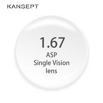 1.67 Index Prescription Lenses CR-39 Resin Aspheric Glasses Lenses for Myopia/Hyperopia/Presbyopia Eyeglasses - DISCOUNT ITEM  38% OFF Apparel Accessories