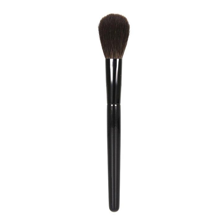 SQ Professional Makeup Brushes Ultra soft Blue Squirrel Hair Cheek Blush Brush Black Handle Cosmetic Tool