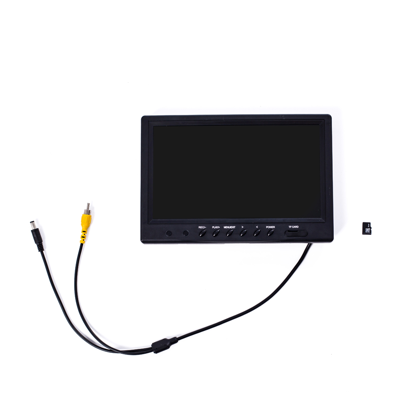 WP90 9inch TFT Color Monitor , Display Monitor For Pipe Drain Sewer Inspection Video Recording DVR System Replacement Monitor