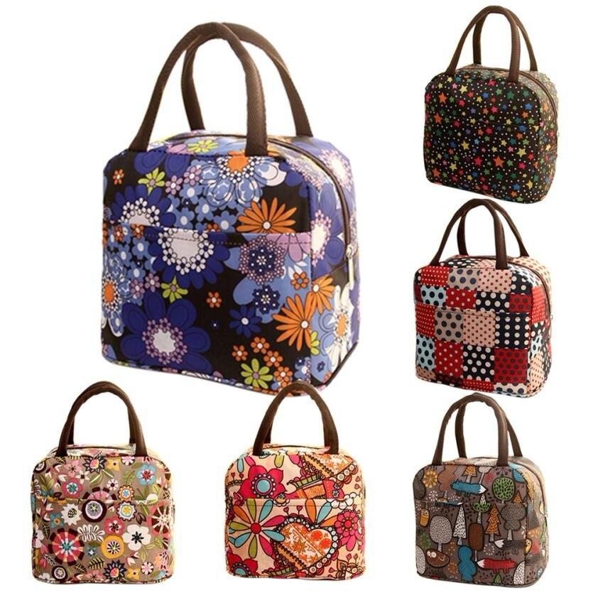 Thermal Insulated Tote Picnic Lunch Cool Bag Cooler Box Handbag Pouch Bolsa Feminina #P