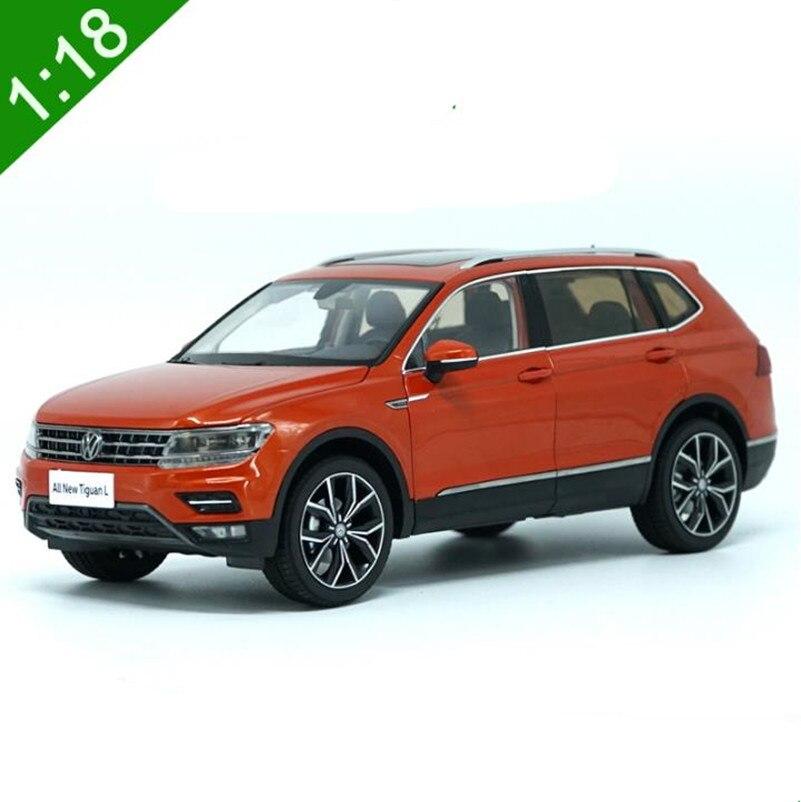 D'origine collection Avancée Volkswagen, 1:18 alliage voiture jouet, Haute simulation TIGUAN L 2017, diecast metal véhicule, livraison gratuite