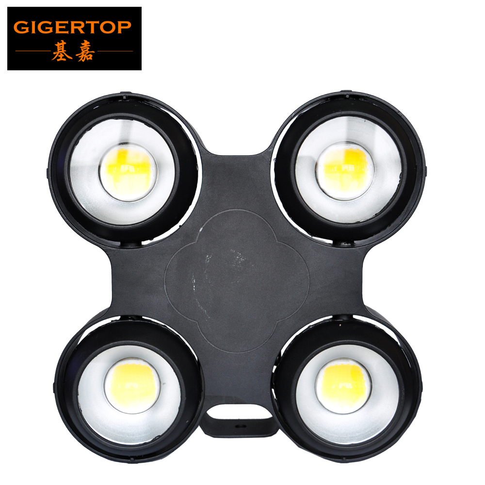 Gigertop étanche 4 yeux COB Led public lumière IP65 verre lentille 4 boutons LCD affichage X forme compacte Structure lumière extérieure