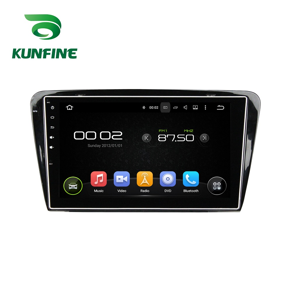 10.1» Octa Core 2GB RAM Android 6.0 Car DVD GPS Navigation Multimedia Player Deckless Car Stereo for Octavia 2014 2015 Radio