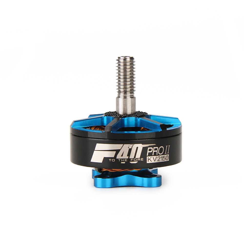 T-motor F40 PRO II 2150KV 3-5S Brushless Motor Blue for RC Models DIY Multirotor FPV Racing Drone Frame Spare Parts Accessories hot new aomway ant019 5 8 ghz 8 dbi y antenna sma male for fpv racing drone for rc multirotor fpv system spare parts accessories