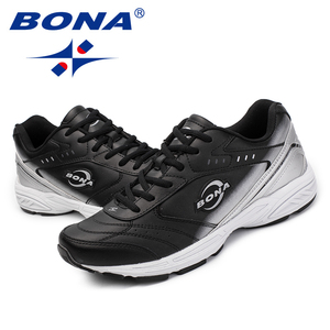 Image 5 - BONA New Classics Style Men Casual Shoes Lace Up Men Loafers Split Leather Men Flats Outdoor Fashion Sneakers Fast Free Shipping
