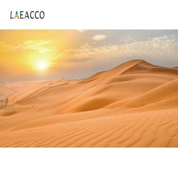 Vinyl Backdrops Natural Desert Sand Dunes Sunset Beautiful View Photography Backgrounds Photo Backdrops Photocall Photo Studio