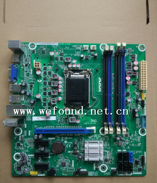 100 Working Desktop Motherboard For IPIMB-AR DX4870 1155 B75 DDR3 System Board Fully Tested