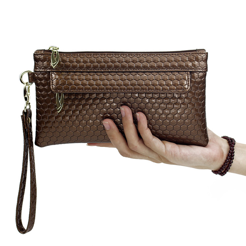 15a20ce251 Big Capacity New Women Smartphone Wristlet Wallet Purse Money Cell Phone  Bags Long Leather Wallet Female Wallet for Girls Cuzdan-in Clutches from  Luggage ...
