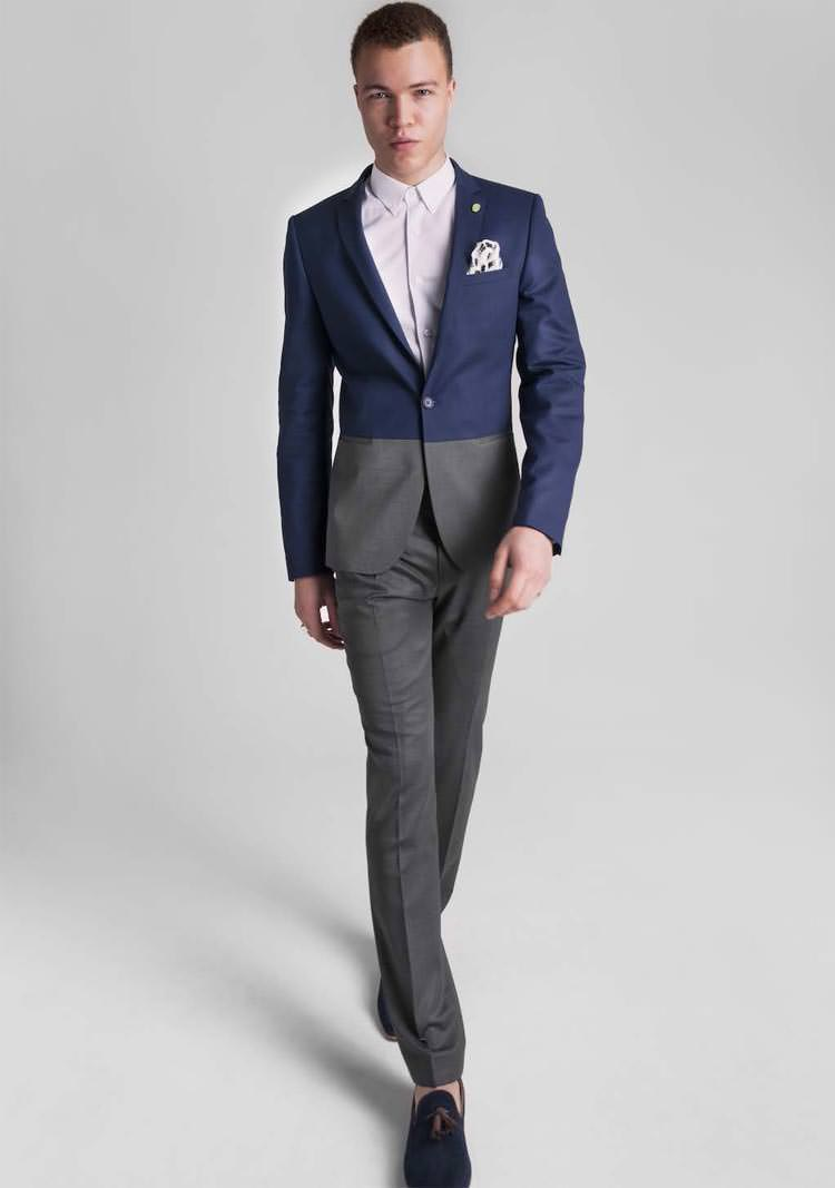 Online Get Cheap Gray Blue Suit -Aliexpress.com | Alibaba Group